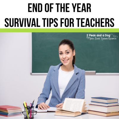 Make your end of the year activities exciting. Teachers - try these low prep and engaging lesson ideas in your classroom from the 2 Peas and a Dog blog.