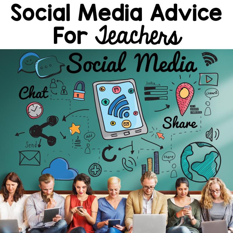 Social Media Tips for Teachers - 2 Peas and a Dog
