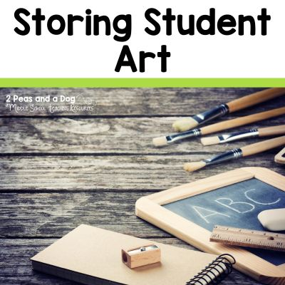 5 ideas for student art portfolios from the 2 Peas and a Dog blog.