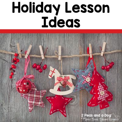 With the holiday season approaching the air in our classrooms becomes filled with excitement. It is important that we enjoy the season with our students while maintaining a focus on curriculum and instructional time. Several holiday classroom management tips and lesson ideas are shared in this blog post by 2 Peas and a Dog.