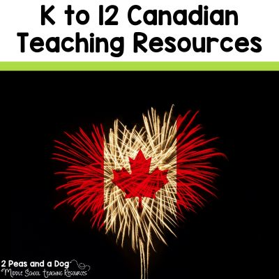 A massive list of K - 12 teaching resources created by Canadian teachers.