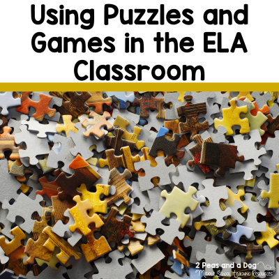 Find great ideas for keeping students engaged in learning with puzzles and games from the 2 Peas and a Dog blog.