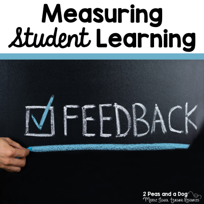 One of the most important things that teachers do is provide timely and accurate feedback on student learning. Learn more about assessment, evaluation and measuring student learning from 2 Peas and a Dog.