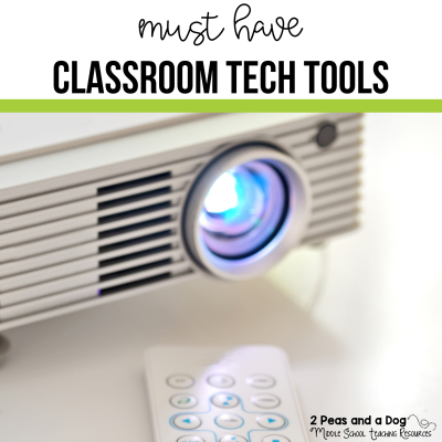 Technology is a great addition to the classroom. Check out the essential technology recommendations from other teachers from 2 Peas and a Dog.