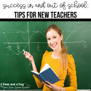 New teacher tips from 2 Peas and a Dog. #newteachers #mealprep #healthyteachers
