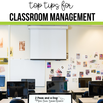 Solid classroom management is key to a teacher's success in the classroom. Check out these tips from real teachers from 2 Peas and a Dog. #classroommanagement #newteachers