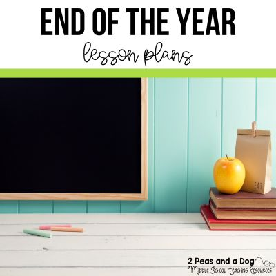 The end of the year is fast approaching and it can be difficult to keep students engaged. Use these fun and interesting end of the year lesson plans to keep your classes working until the last few days. #englishlanguagearts #lessonplans #endoftheyear #teachers #lessons