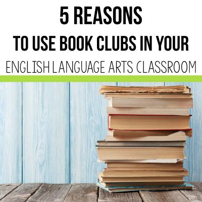Student book clubs for students are a great addition to any English classroom or any subject area. Book clubs allow for student choice, differentiation, and many other advantages from the 2 Peas and a Dog blog. #books #bookclubs #lessonplans #reading #novels