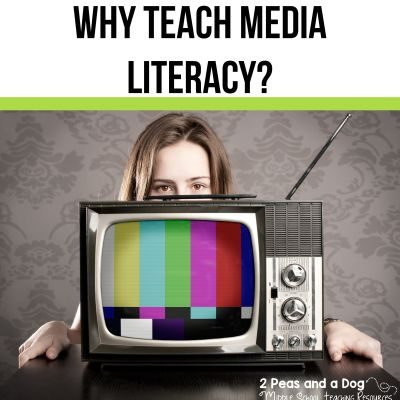 Media literacy is a key component to a balanced literacy program. It is the ability to think critically about the media sources people interact with daily. Read my 5 top reasons why teaching media literacy is important. #medialiteracy #media #balancedliteracy #englishlanguagearts #lessonplans