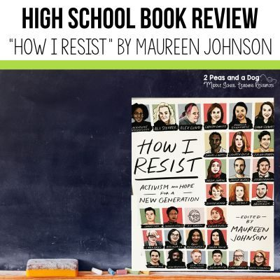 "Book Review of ""How I Resist"" essay anthology. #bookreview #teens #englishclass #highschool"
