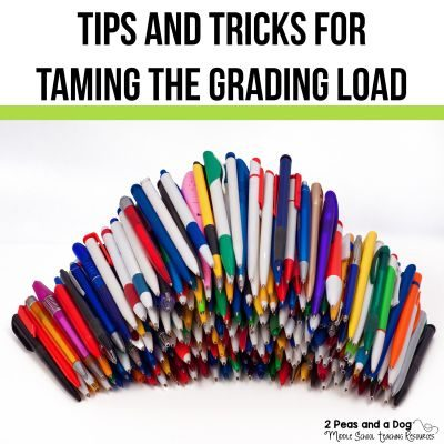 Marking tips and tricks are important for teachers to share with each other. Read about grading tips, tricks, and tech tools to help you mark/grade more efficiently, and help students get the most out of your grading and assessment. #marking #grading #teachers #lessonplans