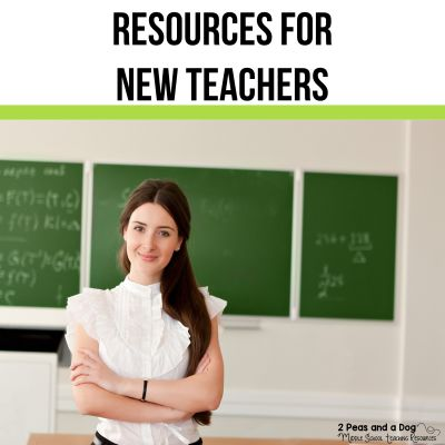 Find quality new teacher resources, lesson plans, ideas and advice from 2 Peas and a Dog. #newteachers #lessonplans #newteacher