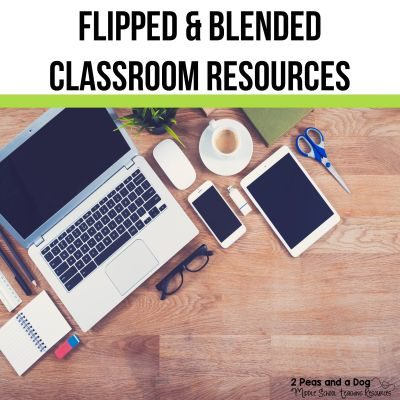 Learn more about flipped classrooms and blended learning and how to integrate this innovative and engaging technology into your classroom from 2 Peas and a Dog. #technology #edtech #blendedlearning #flippedclassroom
