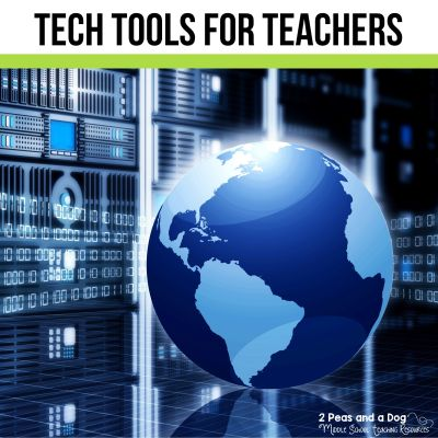 Check out these awesome tech tools for teachers from 2 Peas and a Dog. #edtech #classroomtechnology #classroomtech