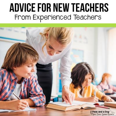 Teaching is hard! Read the best advice for new teachers on a variety of topics from experienced teachers. #newteachers #classroommanagement #lessonplans #middleschoolela