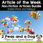 Article of the Week Non-Fiction Articles Celebrations and Holidays Bundle