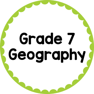 Grade 7 Geography