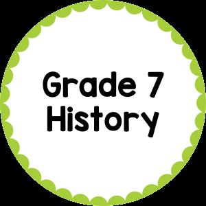 Grade 7 History