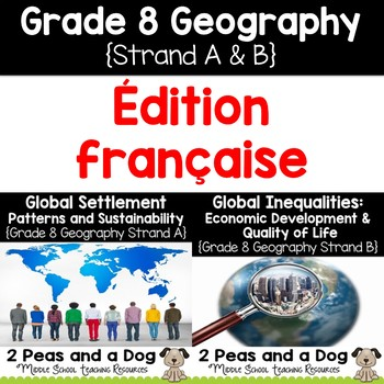 Grade 8 Geography Units Ontario Curriculum French Edition