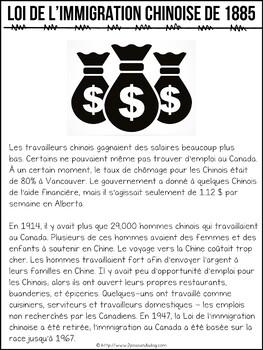 Grade 8 History Creating Canada 1850-1890 Strand A French Edition
