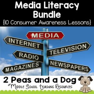 Media Literacy Bundle 10 Consumer Awareness Lessons