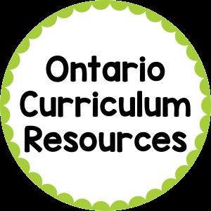 Ontario Curriculum Resources