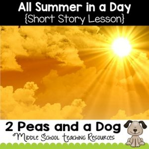 All Summer in a Day Short Story Lesson