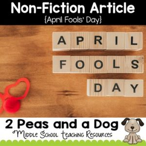 April Fools' Day Non-Fiction Article