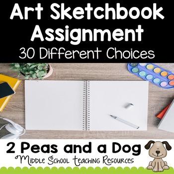 Art Sketchbook Assignment