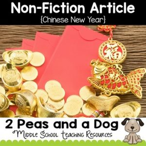 Chinese New Year Non-Fiction Article