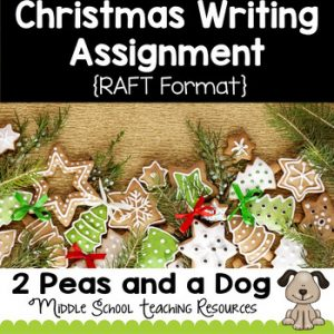 Christmas Creative Writing Assignment