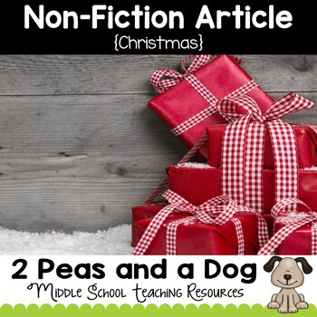 Christmas Non-Fiction Article