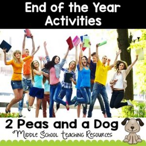 End of the Year Activities