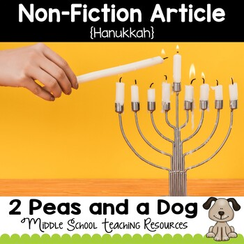 Hanukkah Non-Fiction Article