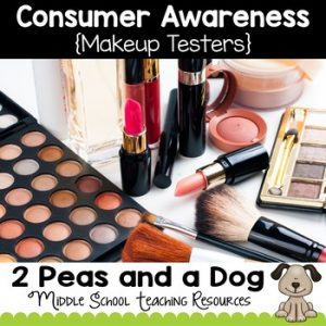 Health Lesson: Consumer Awareness Lesson - Makeup Testers