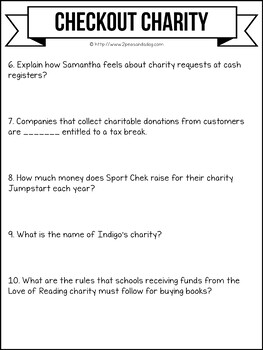 Media Literacy: Consumer Awareness Lesson - Checkout Charity