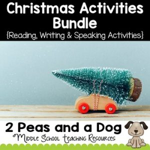 Middle School Christmas Activities Bundle