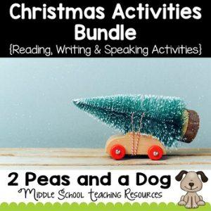 Middle School Christmas Activities Bundle
