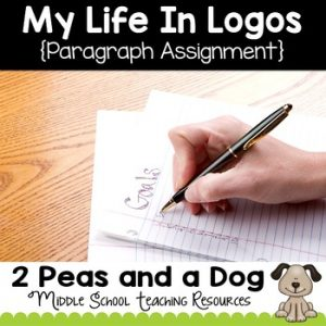 My Life in Logos Paragraph Writing Assignment