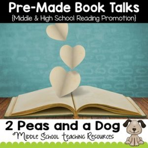 Pre-Made Book Talks For Middle and High School Teachers