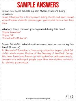Ramadan Non-Fiction Article