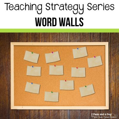 Learn how to use word walls in your classroom and help your students improve their learning from 2 Peas and a Dog.