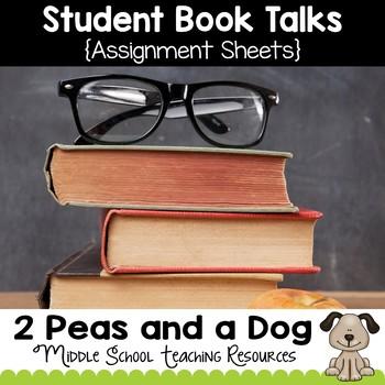 Student Book Talk Assignment