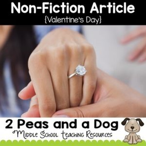 Valentine's Day Non-Fiction Article