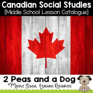 Canadian Social Studies Lesson Catalogue