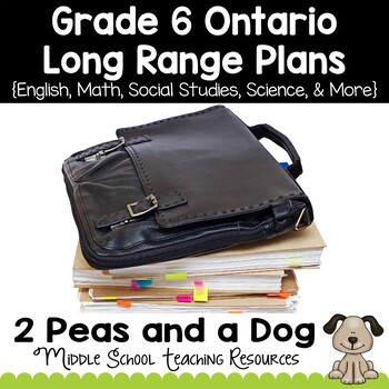 Grade 6 Long Range Plans Ontario Curriculum
