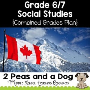 Grade 6 and Grade 7 Social Studies Long Range Plans Ontario Curriculum