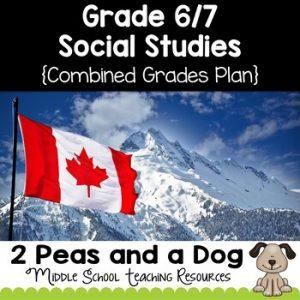 Grade 6 and Grade 7 Social Studies Long Range Plans Ontario Curriculum