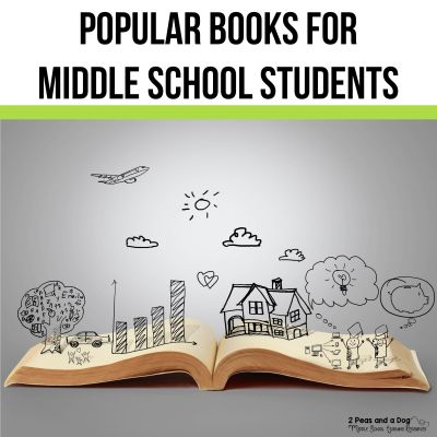 Use this great list of popular middle school books to help your students find their next book to read.