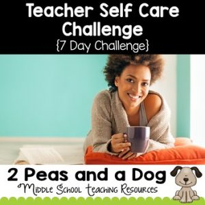 Teacher Self-Care Challenge
